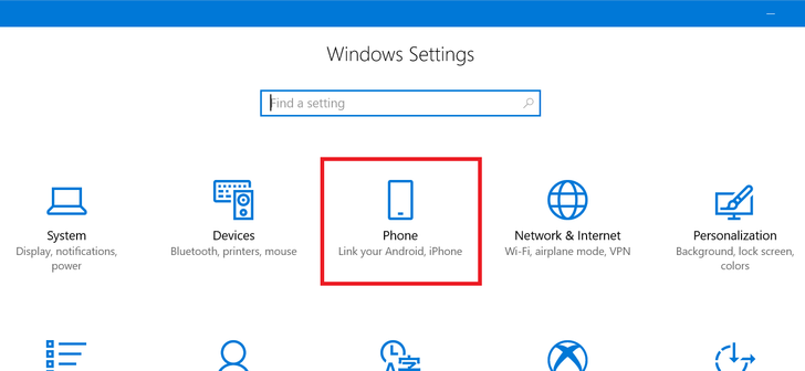 New Windows 10 preview build allows users to send links directly from their phone to their PC
