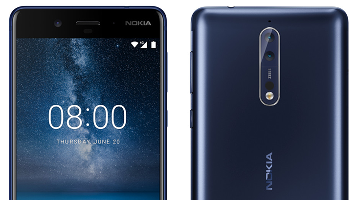 [Update: In silver] Nokia's flagship phone will likely be called 'Nokia 8,' with Snapdragon 835 and 4GB RAM