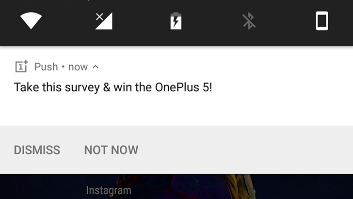 Never settle: OnePlus keeps sending push notifications about ads and surveys to its devices