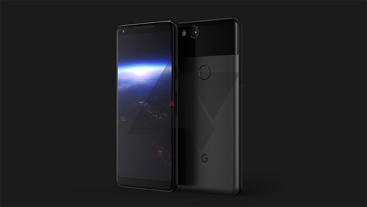 """Exclusive: This is the 2017 Google Pixel """"XL,"""" with low-bezel AMOLED display and squeezable frame"""