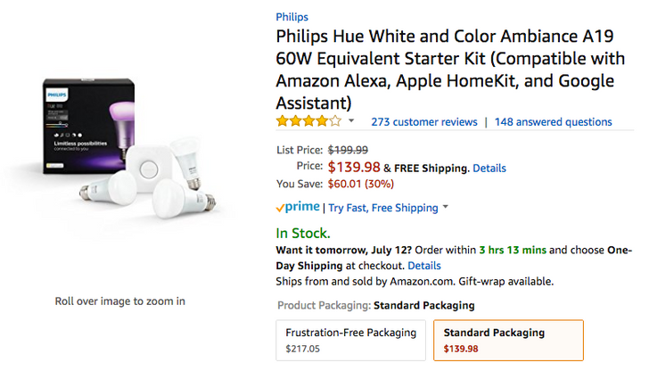 [Deal Alert] Great discounts on Philips Hue, Wink Hub, Canary camera, and more smart home products on Amazon Prime Day