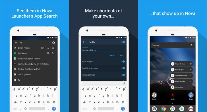 Nova Launcher 5.4.1 is out of beta, brings Sesame Shortcuts deep links to everyone