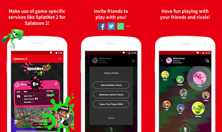 Nintendo Switch Online app shows up on the Play Store, but it doesn't work yet