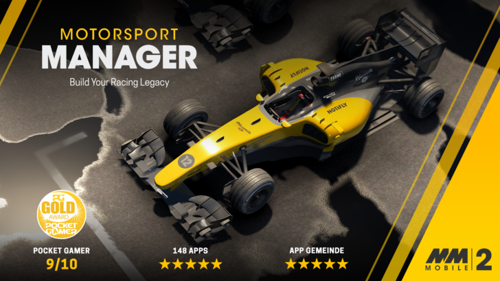 Motorsport Manager Mobile 2 speeds on to the Play Store