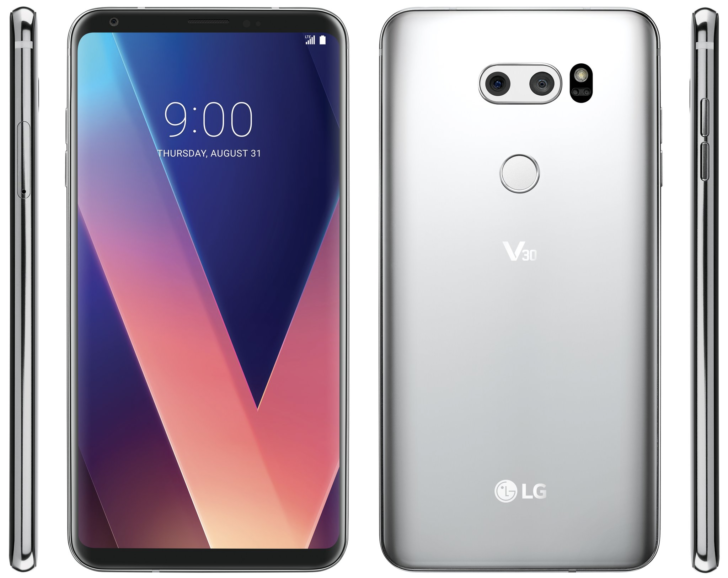The first official render of the LG V30 has leaked, and it's a beauty