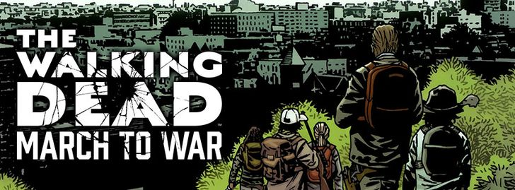 The Walking Dead: March to War has meandered errantly to the Play Store