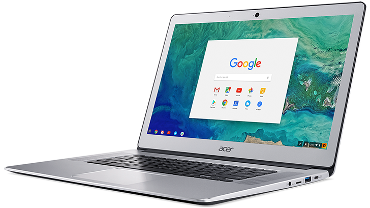 Acer reveals new metal Chromebook 15 with support for Android apps