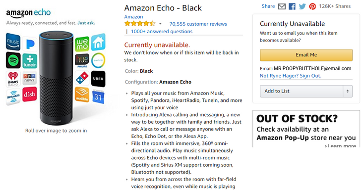 More than two years later, Amazon still can't keep its Echo in stock