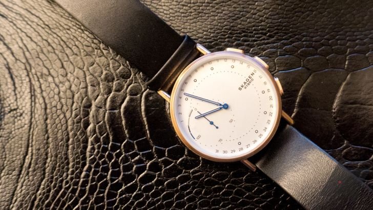Skagen Connected Signatur Hybrid review: Limited smartwatch functionality in an attractive package