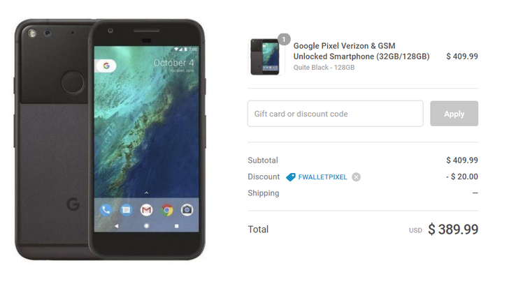 [Deal Alert] Refurbished Google Pixel phones just $359.99 (32GB) and $389.99 (128GB) on Daily Steals w/coupon