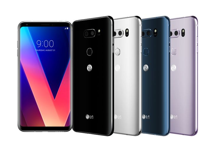 LG officially unveils the V30, with 6-inch FullVision P-OLED display, dual cameras, and a Snapdragon 835