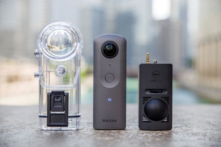 Ricoh's new Theta V puts 360-degree 4K video recording in a tiny package