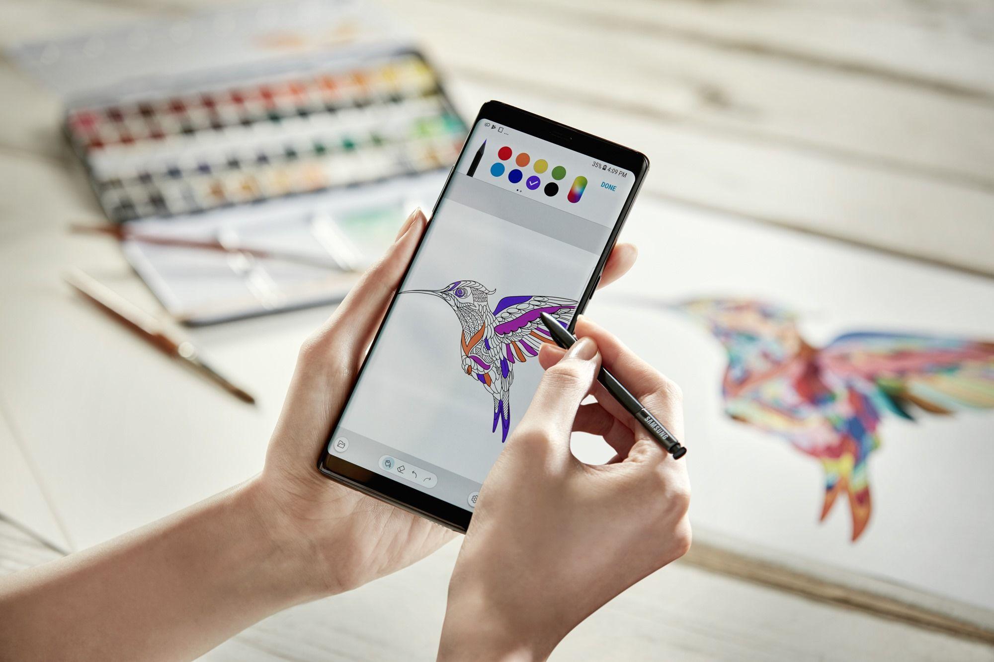 S Pen Coloring