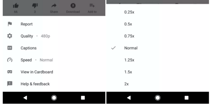 Speed controls are finally being tested in YouTube's Android app