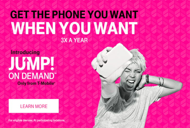 T-Mobile revises JUMP! On Demand to allow device upgrades every 30 days