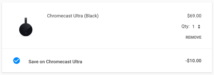 [Deal Alert] Get a Chromecast Ultra for $59 ($10 off) at Google Store, Best Buy, and more
