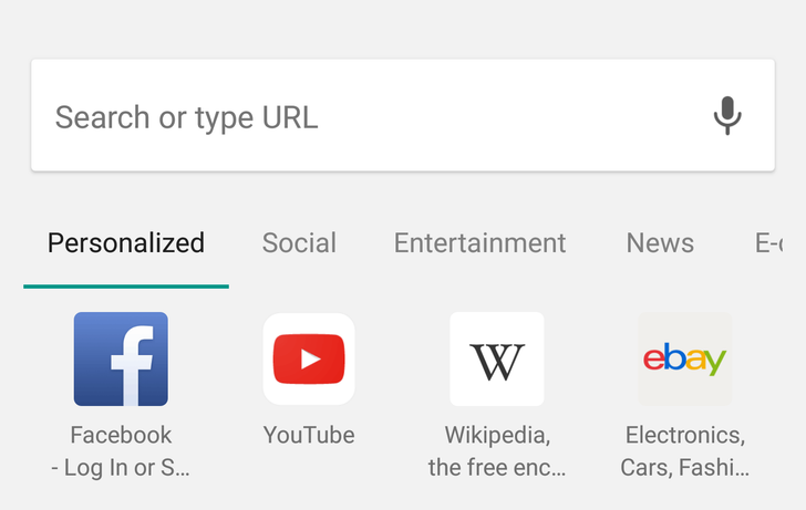"Chrome's new tab page might be getting ""Site Exploration"" categorized content"