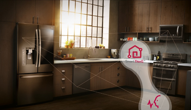 LG's smart appliances will work with Google Assistant and Alexa later this year