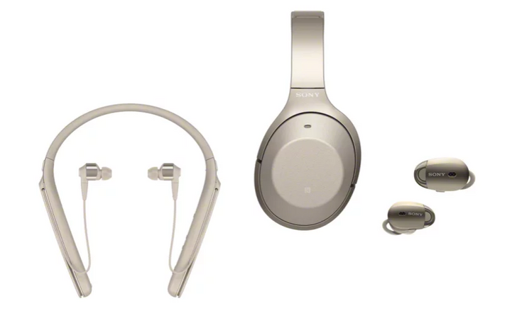 Sony announces three new models in the 1000X family of wireless noise canceling headphones