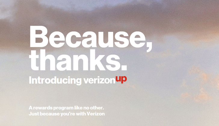 Verizon Up is the carrier's new rewards program, replaces Smart Rewards