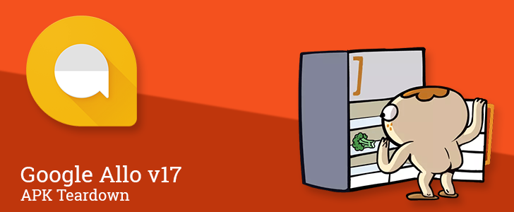 """Allo v17 prepares to add """"web stickers"""" for more variety, will soon sort sticker packs into searchable categories [APK Teardown]"""