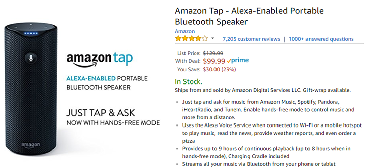 [Deal Alert] Amazon Echo is $99 ($80 off), Fire 7 with offers is $39, and more at Amazon