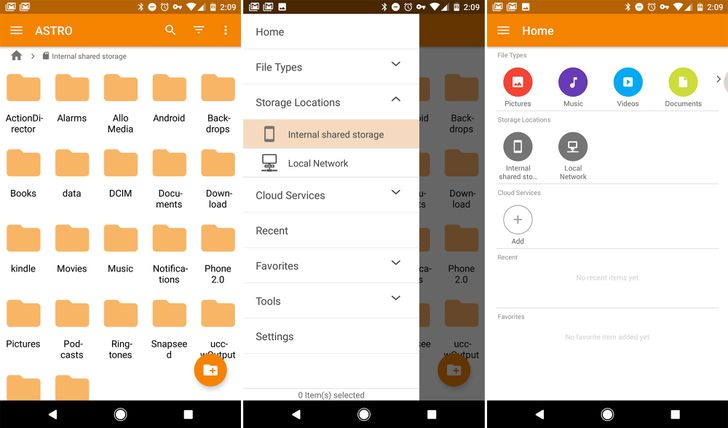 Astro File Manager gets a complete redesign in v6.0 beta