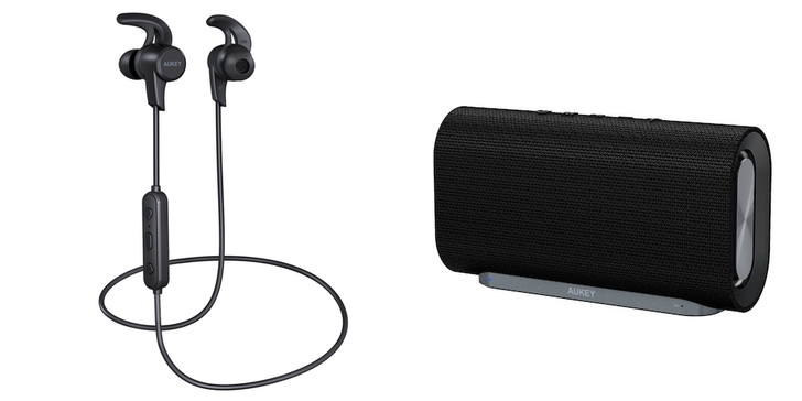 [Update: Winners] Giveaway: Win one of 8 AUKEY audio bundles with the EP-B40 Latitude wireless ear buds ($25 value) and SK-M30 wireless speaker ($50 value) or use an exclusive coupon to buy now [US]