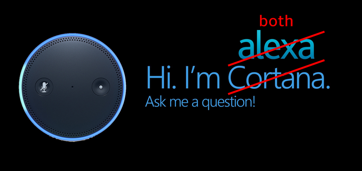 [Who Needs Humans?] Alexa and Cortana will start talking to each other later this year