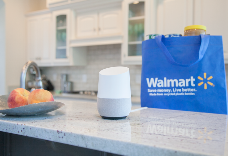 You can now order items from Walmart through Google Express and Google Home