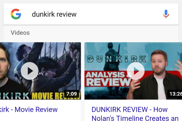 Google rolling out auto-playing video previews in Search