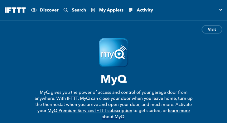 [Updated] IFTTT adds channels for MyQ garage door opener, Neato robot vacuums, and WD's new My Cloud Home NAS