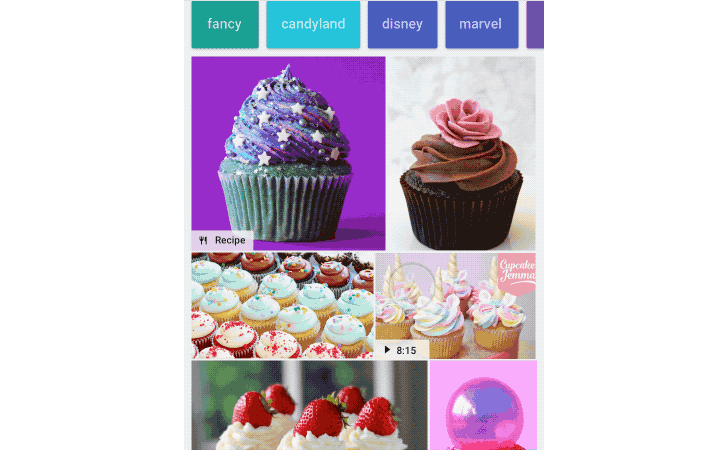 Google Image Search adds badges to denote recipes, products, and more