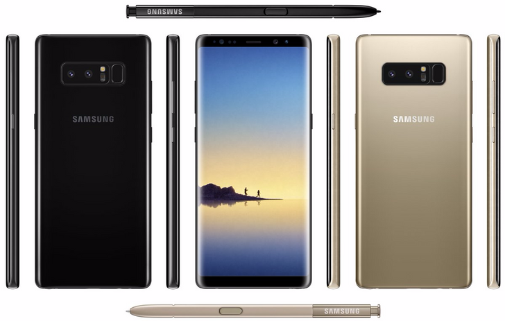 """VentureBeat: Galaxy Note8 will sport 6.3"""" 1440p Infinity Display, Snapdragon 835, and 6GB of RAM"""