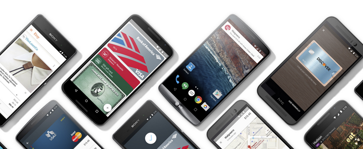 Android Pay support added to 40 new US banks and credit unions