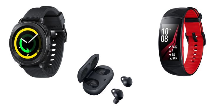 Samsung announces Gear Sport, Gear Fit2 Pro, and new Gear IconX earbuds
