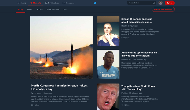 [Update: Live] Twitter is readying a night mode for the desktop site