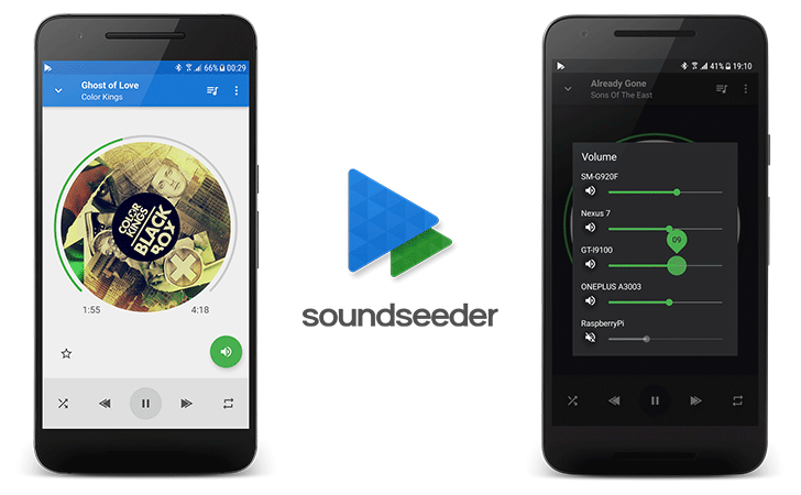 Wireless multi-speaker app SoundSeeder gets a material makeover in version 2.0
