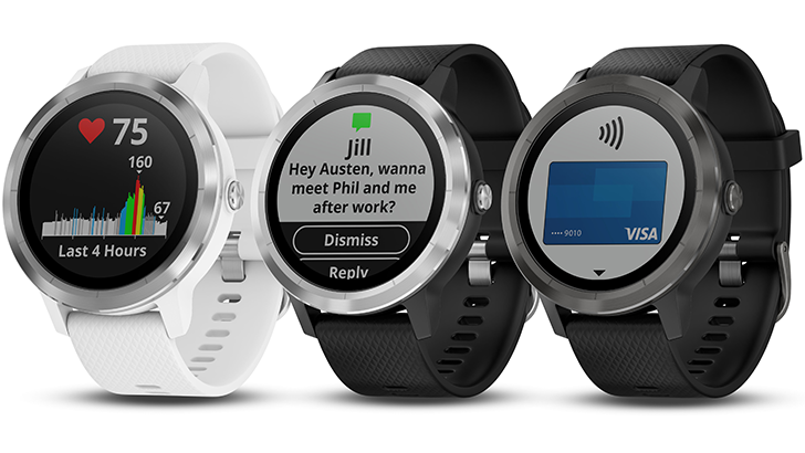 Garmin announces three new wearables, and Garmin Pay for NFC payments