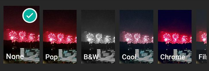 WhatsApp beta briefly tested then removed photo filters