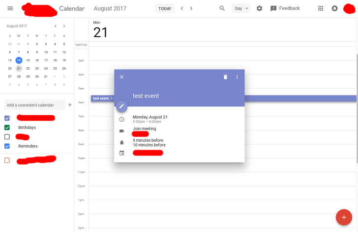 [It's really happening] Google Calendar's material redesign for the web is now in testing