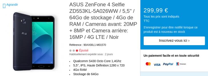 """ASUS accidentally leaks ZenFone 4, ZenFone 4 Selfie/Selfie Pro, and 5.2"""" ZenFone 4 Max"""
