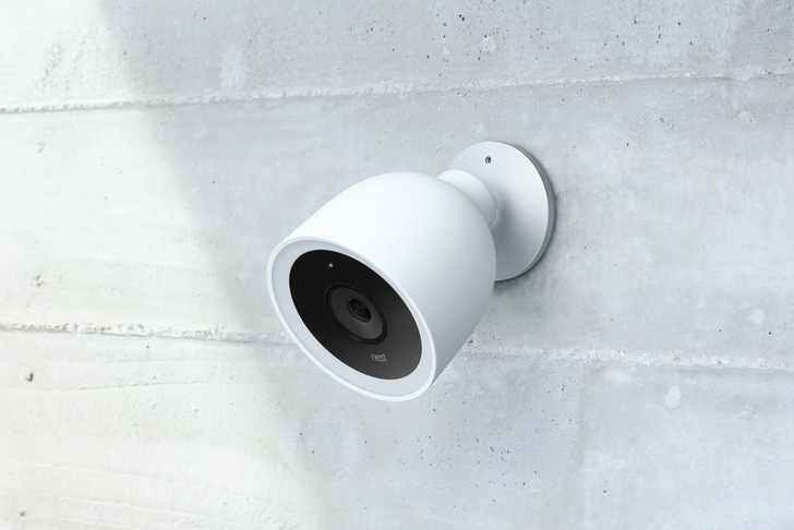 The Nest Cam IQ Outdoor is a $349 outdoor security camera with facial recognition
