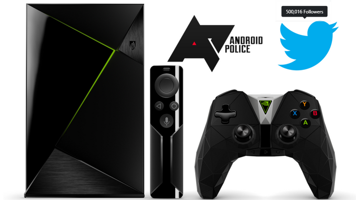 [Update: Winner] Giveaway: Android Police and Nvidia are giving away a SHIELD Pro to celebrate half a million Twitter followers