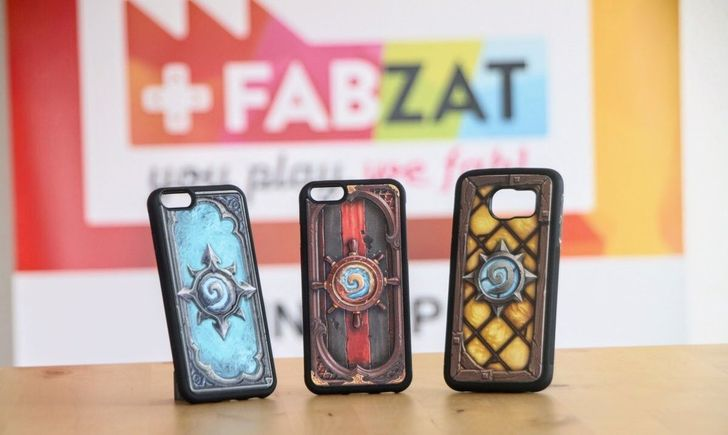 You can get a Hearthstone 3D printed phone case, if you're into that kind of thing