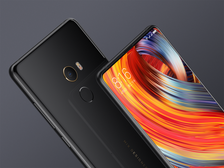 Xiaomi announces the Mi Mix 2, with improved full screen display and a ceramic unibody Special Edition