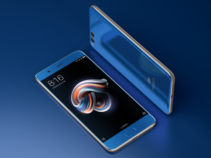 Mi Note 3 from Xiaomi is official, with dual-cameras on the rear and a 16MP sensor on the front