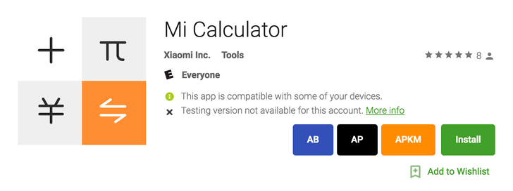 Xiaomi uploads its rather capable Mi Calculator app to the Play Store for all devices