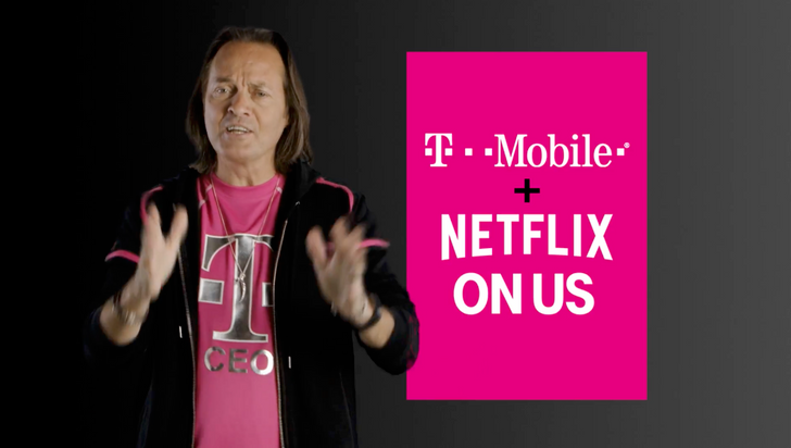 "T-Mobile ONE's new ""Netflix On Us"" brings free Netflix to customers with two or more lines"