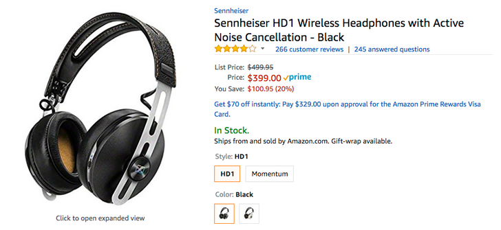 [Update: Best Buy too] Deal Alert: Sennheiser HD1 wireless headphones with active noise cancellation down to $399 ($100.95 off) on Amazon
